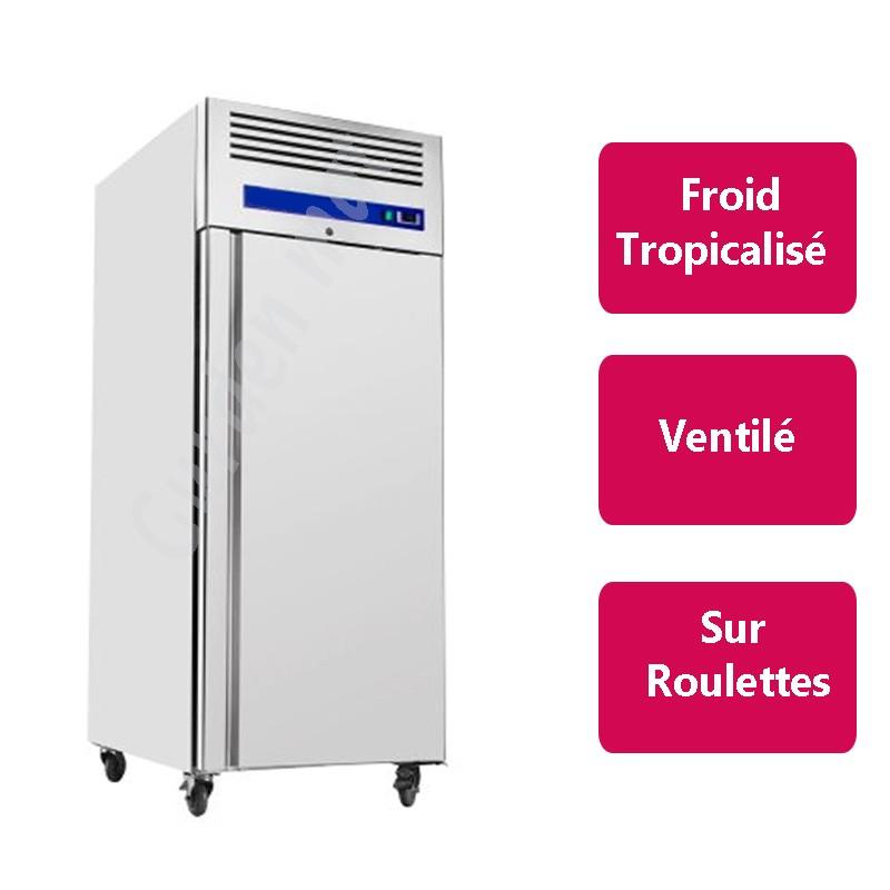 Armoire réfrigérée Inox 1 porte Froid positif
