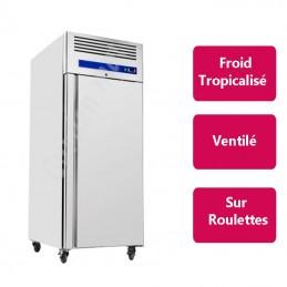 Armoire réfrigérée Inox 1 porte Froid négatif