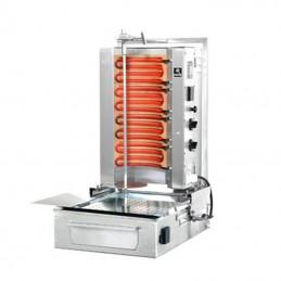 Machine à kebab électrique POTIS 4 zones - capacité 30/40 kg