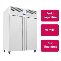 Armoire réfrigérée Inox 2 porte (Froid négatif) - Version compacte