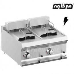 Friteuse électrique MBM 2 x 12 Litres - FRBE77T