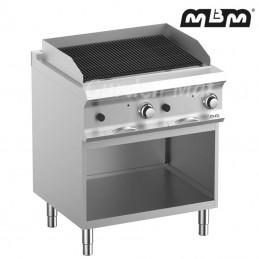 Grill Charcoal MBM 80x73 cm sur meuble - PLG78A
