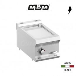 Plaque à snacker électrique MBM 40 x 73 cm Chromée - FTBE74TLC