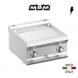 Plaque à snacker électrique MBM 70 x 73 cm Chromée - FTBE77TLC