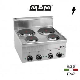 Cuisinière MBM 4 plaques électriques (8,2 Kw) - E46