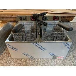 Friteuse électrique Gurden 2 x 8 Litres - Mono 230V
