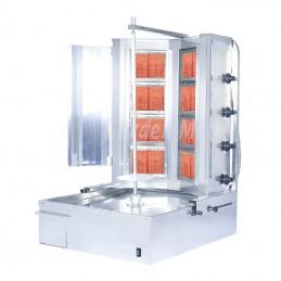 Machine à kebab Turbo V8 - 2 x 4 feux gaz GURDEN