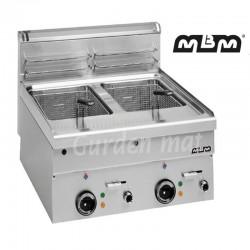 Friteuse électrique MBM 2 x...