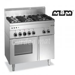 Machine à kebab électrique Potis 3 feux (moteur en bas)