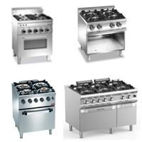 Fourneaux professionnels / Piano de cuisson gaz et ou électrique